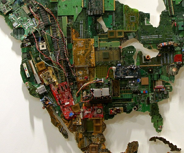 world map computer parts by susan stockwell 4