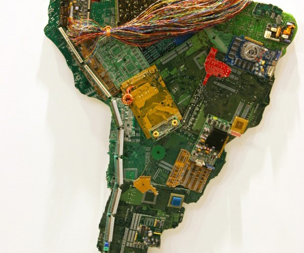 world map computer parts by susan stockwell 5