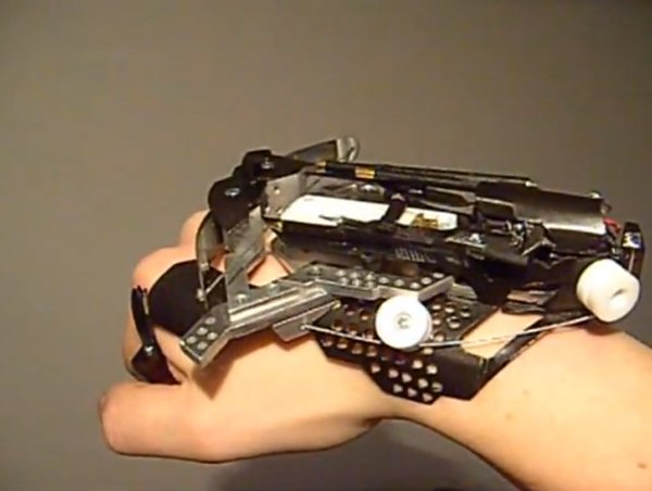 wrist mounted crossbow by patrick priebe