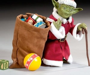 Yoda Claus Coming to Town is He