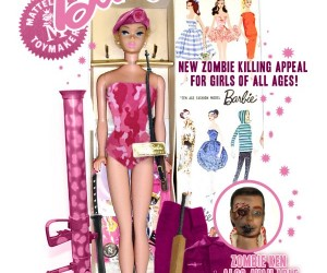 Zombie Attack Barbie Prepares Girls for The Walking Dead
