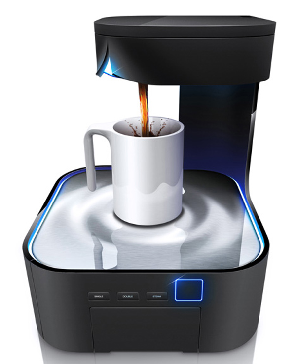 peel coffee machine maker hjc design future appliance