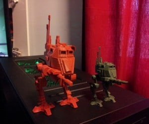 Desktop 3D-Printed Warhammer 40K Mini-Figurines Look Awesome