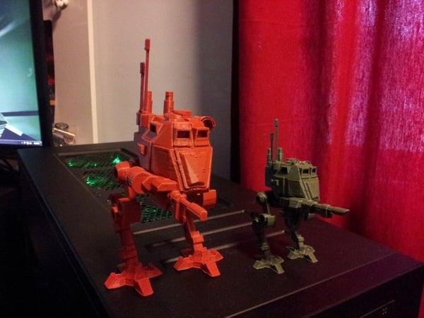 wargames warhammer 40k 3d-printing figurines diy gaming