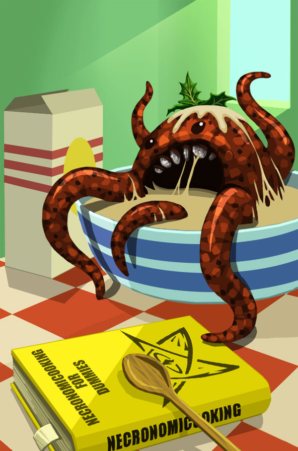 cthulhu calendar app red wasp design mythos lovecraft ios android