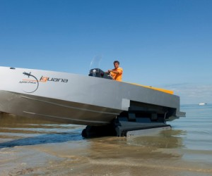 Iguana 29 Amphibious Yachts: Land or Water, It Doesn't Matter