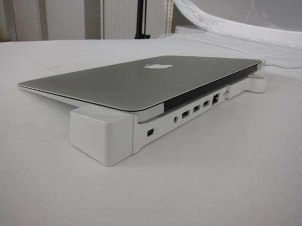 landingzone macbook air dock kickstarter apple ports