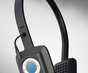ODDIO1 Headphones Hide iPod Shuffle 4G in Plain Sight