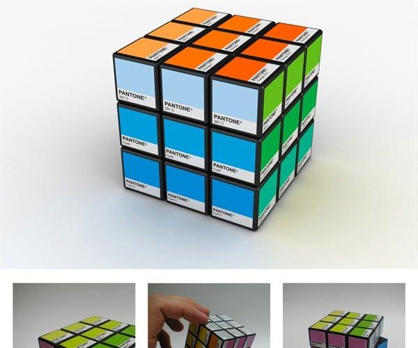 Pantone Rubik's Cube: Easier on the Eyes, Harder to Solve