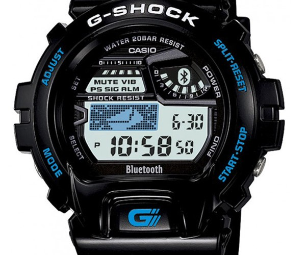 Bluetooth Casio G-Shock Syncs with Your Phone