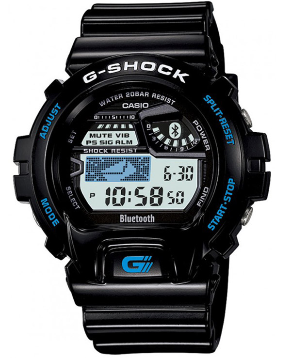g-shock casio bluetooth smartphone sync