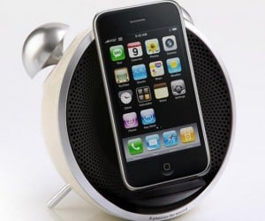 Edifier Tick Tock Alarm Clock & iPhone Dock: Don't Throw It to Snooze!