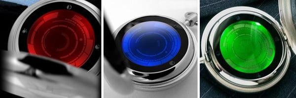 tokyoflash japan kisai rogue watch pocket touchscreen led lcd