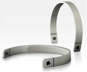 Apple Hairband Headphone Concept for Listening to More than Hair Bands