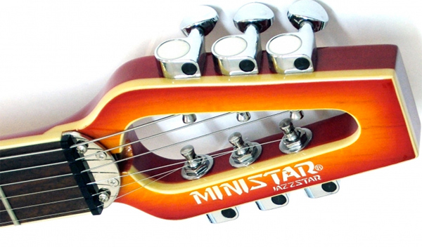 ministar travel guitar musician instrument compact music