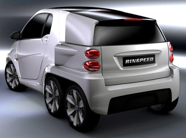 rinspeed dock go electric car pickup extra storage add on
