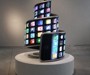 Twisted iPhone Sculpture: Hope Yours Doesn't End Up Like This