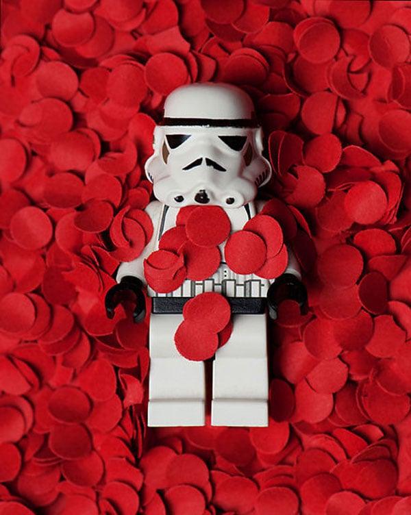stormtrooper star wars lego mike stimpson plastic american beauty