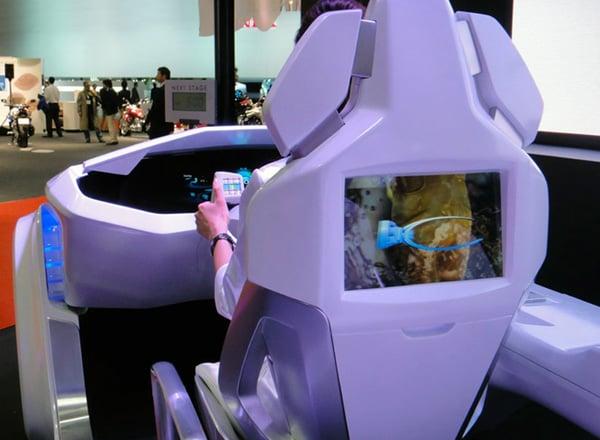emirai dashboard japan mitsubishi car design future