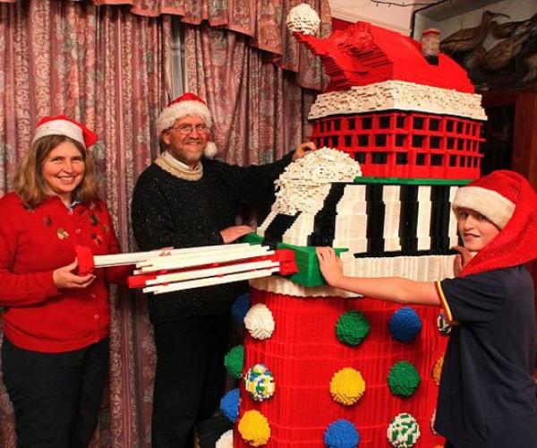 100,000-LEGO Brick Xmas Dalek: Celebrate! Uh, We Mean Exterminate!