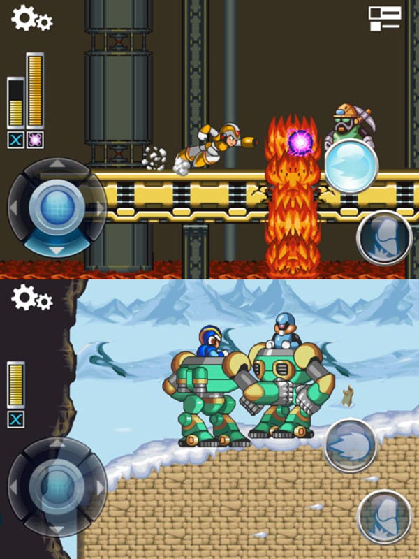 mega man ios x game video retro capcom