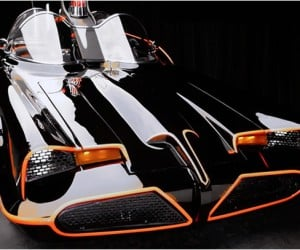 Fully Functioning Batmobile Replica Lets You Ride Home In Style
