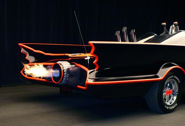 retro batmobile firefox batman classic superhero car