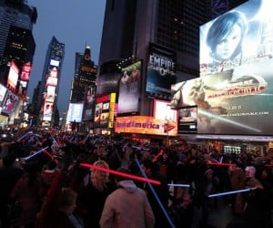 Star Wars' Old Republic Forces Its Way Into Times Square