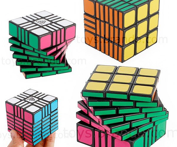 Asymetrical Rubik's Cube Should Keep You Busy for at Least a Few Minutes