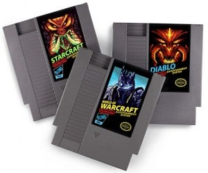 Blizzard Games NES Cartridges: Alternate Reality Cart Art
