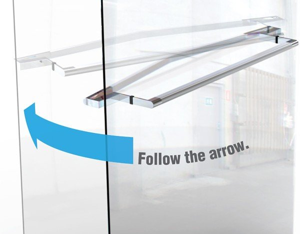 Arrow Door Handle