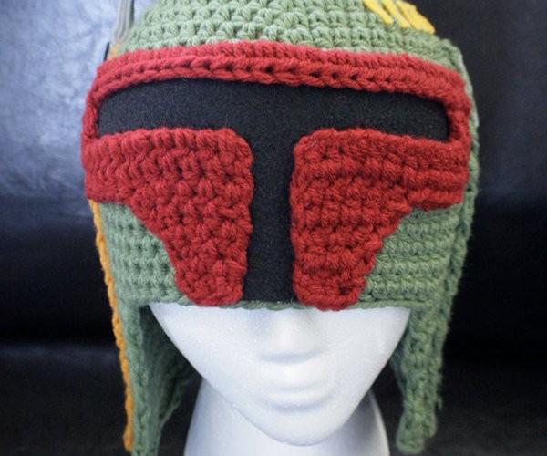 Boba Fett Crochet Hat: Because Bounty Hunters Need to Keep Warm Too