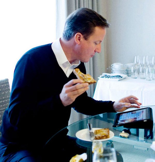 British Prime Minister David Cameron Custom iPad App 01
