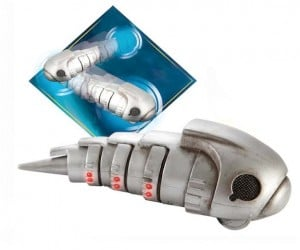 Doctor Who Bump-N-Go Cybermat Toy Literally Shows No Teeth