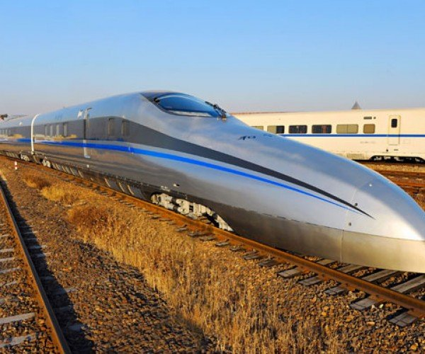 China Working on High-Speed Train That Can Hit 310 MPH… on Rails