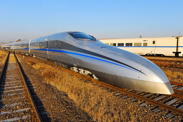 china 310 mph train super high speed rail fast