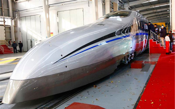 China Tests 310 MPH Train 03