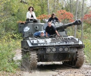 Drive A Tank Lets You Drive Real Tanks, Crush Real Cars