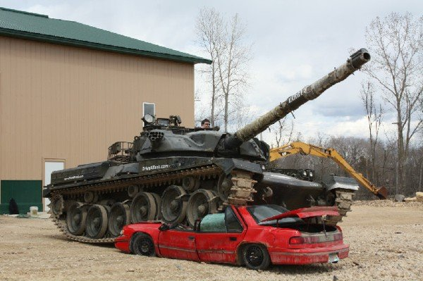 Drive A Tank Crush