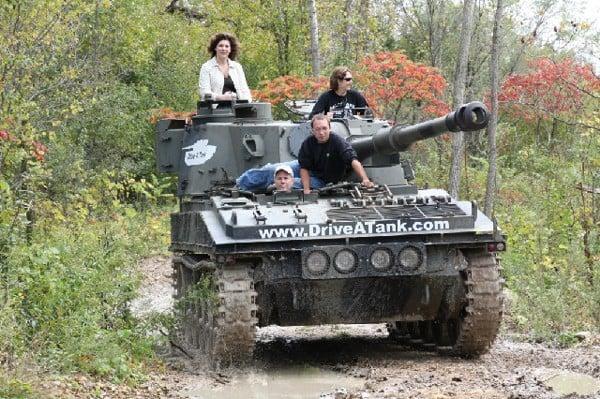 tank drive crush driving cars gift smash tanks hit lets technabob service things