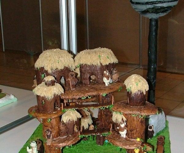 Gingerbread Ewok Village: Yum Yum Jub Jub