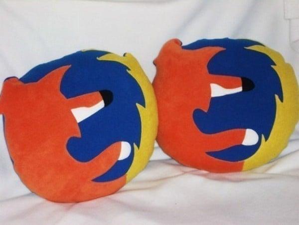 Firefox Icon Pillow