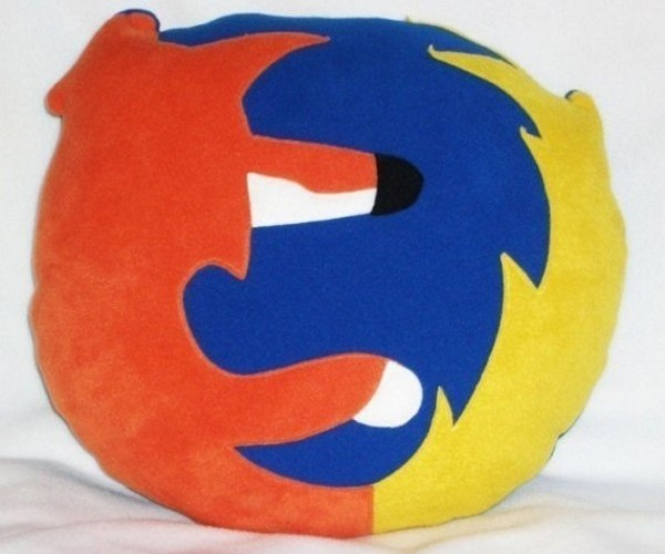 Firefox Icon Pillow Lets You Show Your Love for Your Preferred Browser