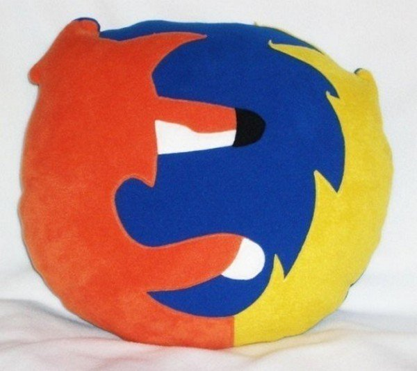 Firefox Icon Pillow1