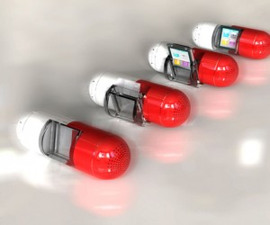 Gavio Pill Dock: Your iPod nano Takes the Red Pill