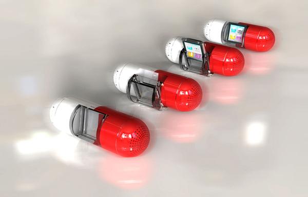 gavio the pill speaker dock ipod nano