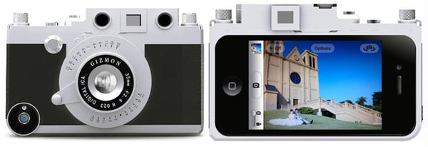 gizmon ica case retro iphone camera