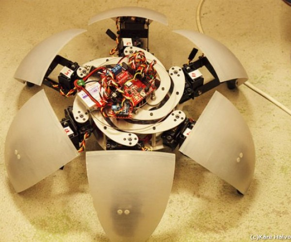 Morphex Robot: Spherical Hexapod Robot Creeps Into Our Lives