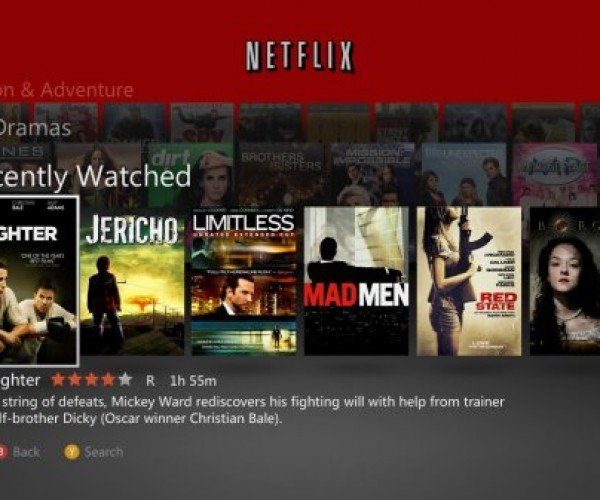 Netflix for Xbox 360 Gets Updated