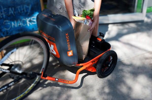 ridekick trailer power electric bike
